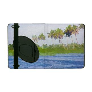 Riegue la ondulación en una laguna del remanso en iPad cárcasa