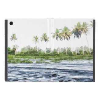 Riegue la ondulación en una laguna del remanso en iPad mini carcasas