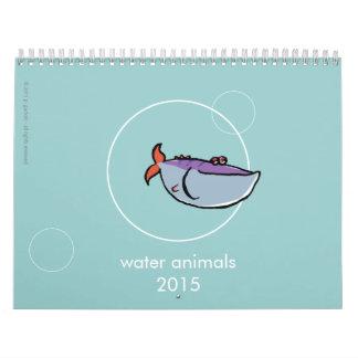 riegue los animales 2015 - con sus propias calendario de pared