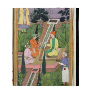 Riegue los jardines, del álbum de Clive (aguazo en