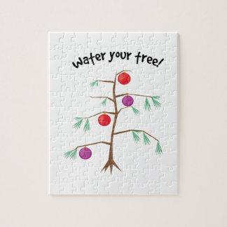 Riegue su árbol puzzle