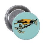 Rielaboration del ejemplo amarillo del pájaro del  pins