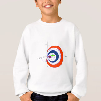 Riemann zeta red transparent.gif sweatshirt