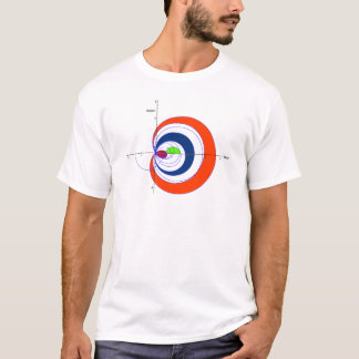 Riemann zeta red transparent.gif T-Shirt