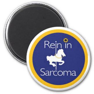 Rienda en imanes del sarcoma imán redondo 5 cm
