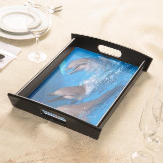 """""""riendo delfines"""" by mysteryella bandeja"""