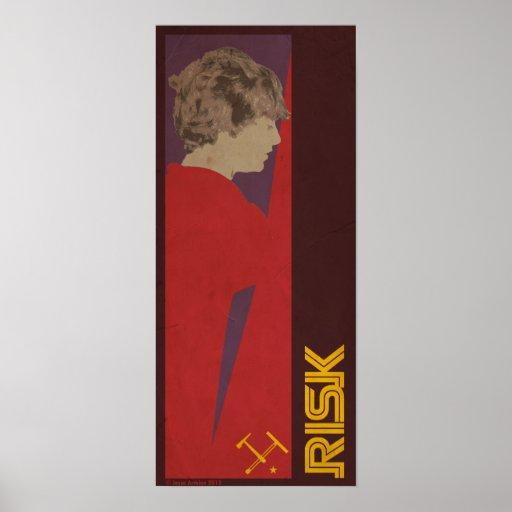 Riesgo (R-Series) Póster