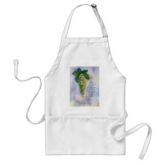 Riesling White Wine Grapes Apron