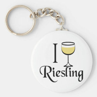 Riesling Wine Lover Gifts Key Chains