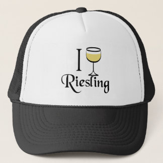 Riesling Wine Lover Gifts Trucker Hat