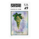 Riesling Wine Stamp