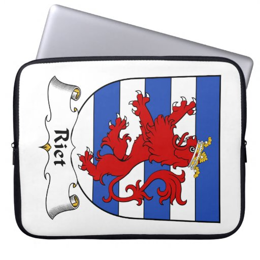Riet Family Crest Computer Sleeve