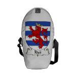Riet Family Crest Courier Bag