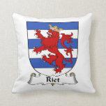 Riet Family Crest Pillows