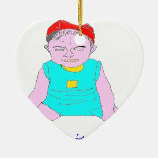 RIEUR.png CHILD Ceramic Ornament
