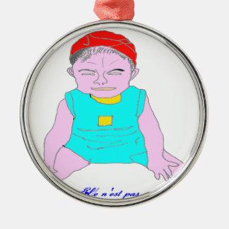 RIEUR.png CHILD Metal Ornament