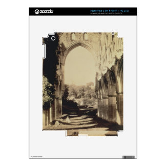 Rievaulx Abbey, North Yorkshire, 1854 (sepia photo iPad 3 Skins