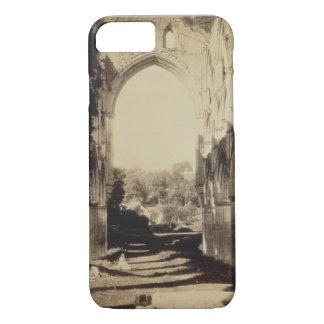Rievaulx Abbey, North Yorkshire, 1854 (sepia photo iPhone 8/7 Case