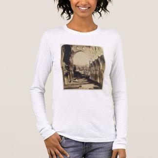 Rievaulx Abbey, North Yorkshire, 1854 (sepia photo Long Sleeve T-Shirt