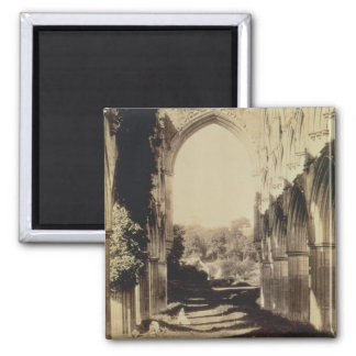 Rievaulx Abbey, North Yorkshire, 1854 (sepia photo Magnets