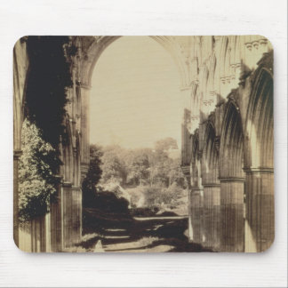 Rievaulx Abbey, North Yorkshire, 1854 (sepia photo Mouse Pad