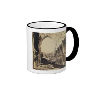Rievaulx Abbey, North Yorkshire, 1854 (sepia photo Coffee Mug