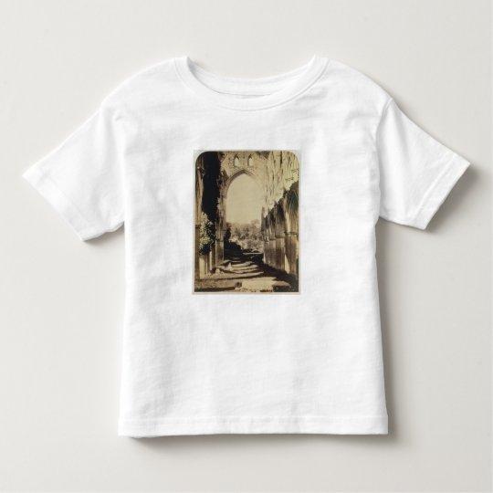 Rievaulx Abbey, North Yorkshire, 1854 (sepia photo Toddler T-shirt