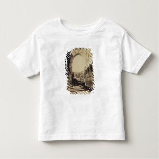Rievaulx Abbey, North Yorkshire, 1854 (sepia photo Toddler T-shirt