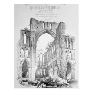 Rievaulx Abbey Postcard