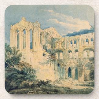Rievaulx Abbey, Yorkshire, 1798 (w/c) Drink Coasters
