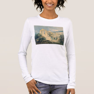 Rievaulx Abbey, Yorkshire, 1798 (w/c) Long Sleeve T-Shirt