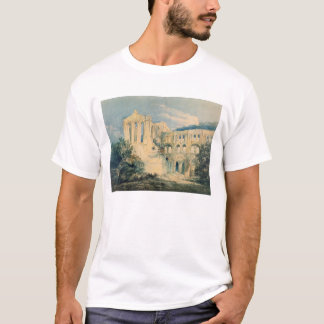 Rievaulx Abbey, Yorkshire, 1798 (w/c) T-Shirt