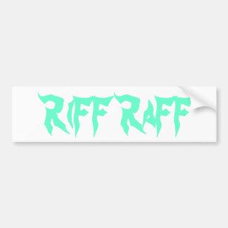 RiFF RaFF Bumper Sticker