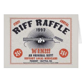 Riff Raffle Card