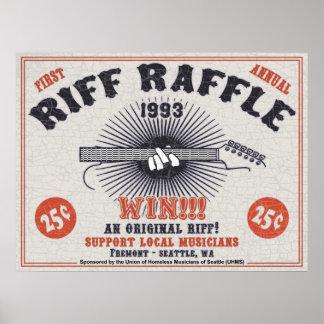 Riff Raffle Poster