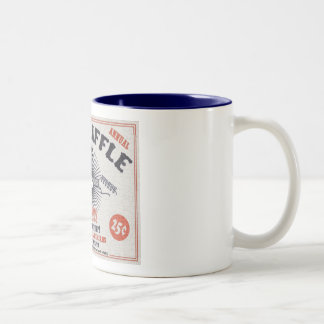 Riff Raffle Two-Tone Coffee Mug