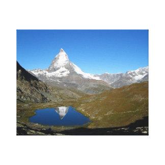 Riffelsee Matterhorn Reflection Canvas Print