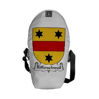 Rifferschweil Family Crest Courier Bags