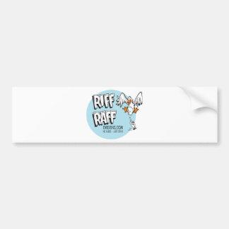 RiffRaff Bumper Sticker