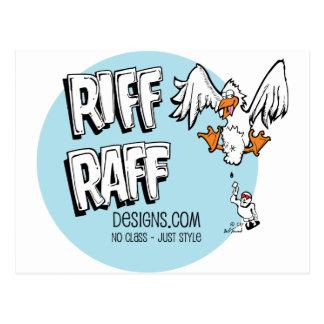 RiffRaff Postcard