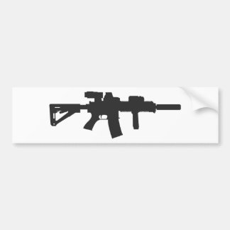 Rifle Carbine Bumper Sticker