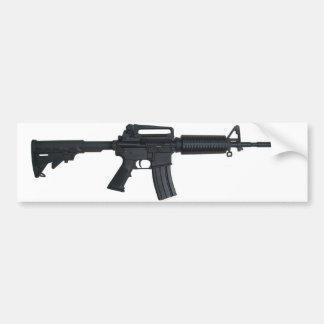 Rifle de asalto AR15 Pegatina Para Auto