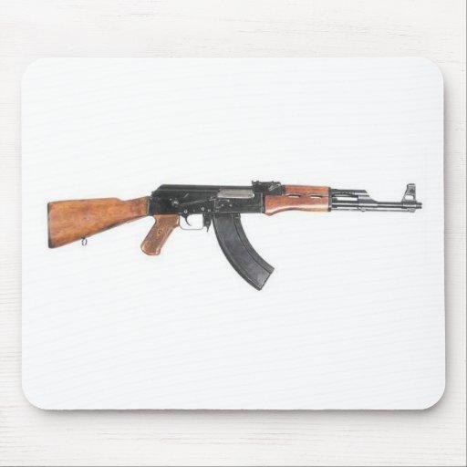 Rifle de asalto de AK47 Tapete De Raton