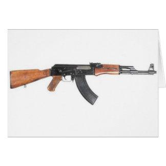 Rifle de asalto de AK47 Tarjeta