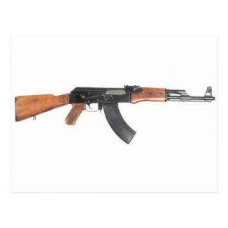 Rifle de asalto de AK47 Tarjeta Postal