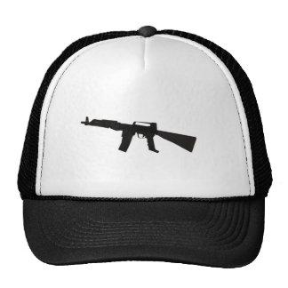 Rifle de asalto gorros bordados