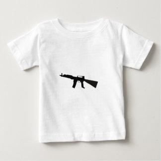 Rifle de asalto playera de bebé