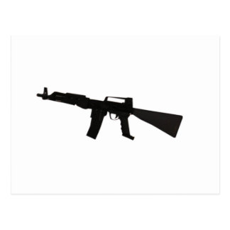Rifle de asalto tarjetas postales