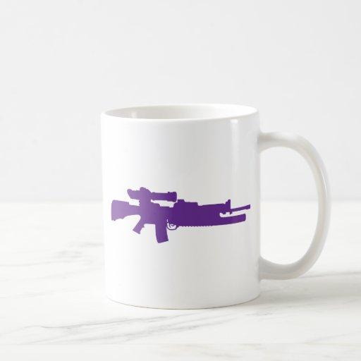 Rifle de asalto tazas