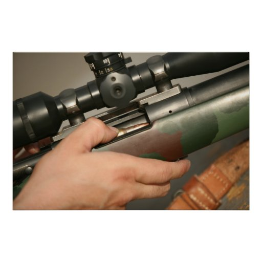 Rifle de francotirador M-40 Póster